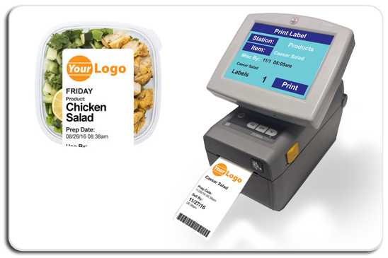 i Print™: Automated Foodservice Safety Label Printer & Training Tablet